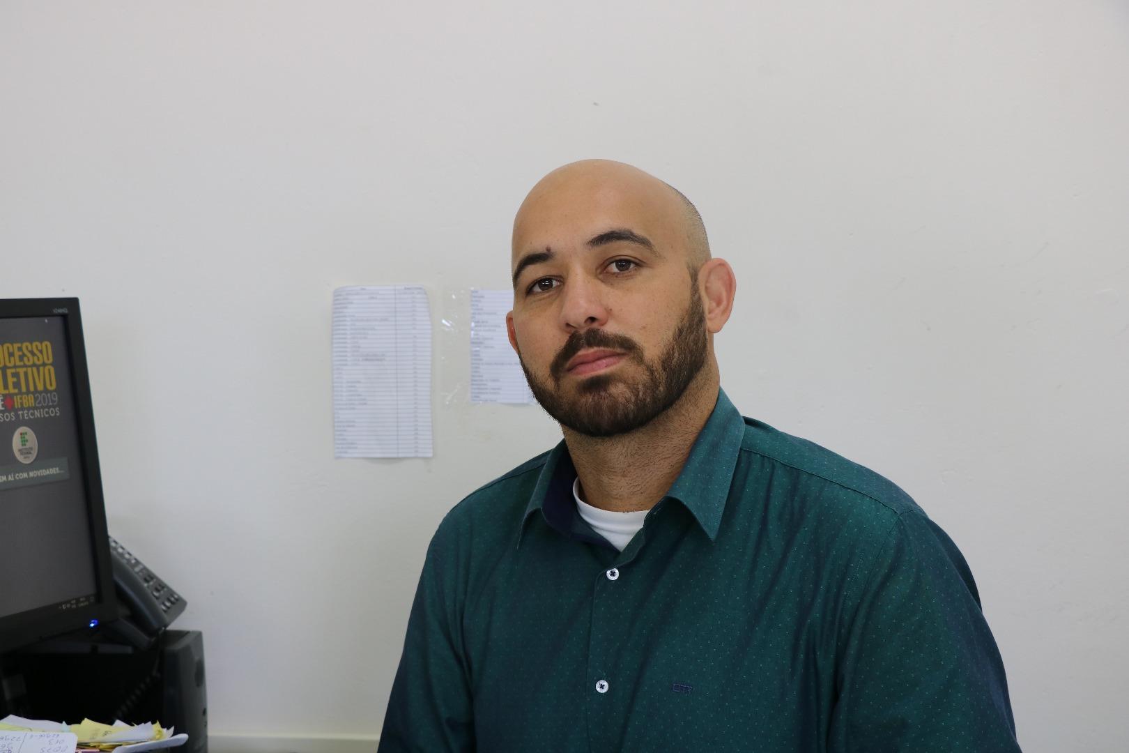 Fabíolo Moraes Amaral, Diretor Geral do IFBA Eunápolis
