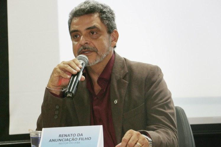 Renato da Anunciação Filho - reitor do IFBA