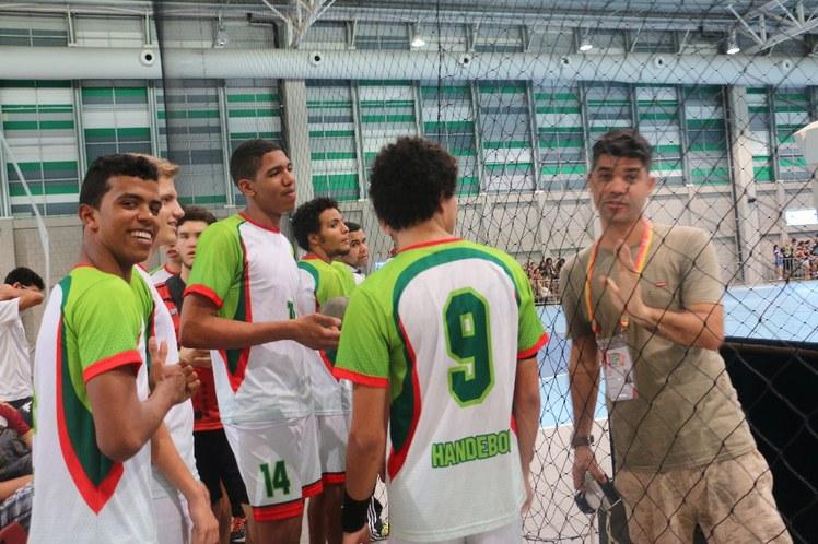Antes do jogo IFBA X IF Sertão PE
