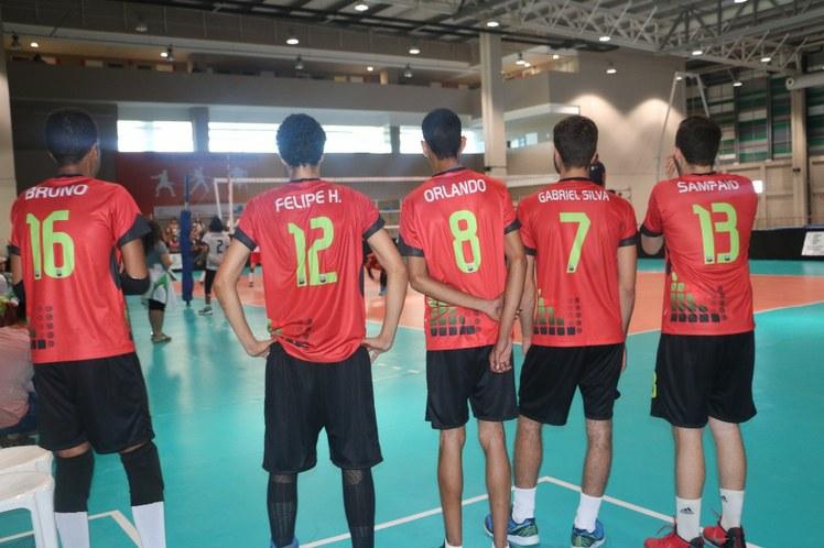 Banco de reservas do voleibol masculino