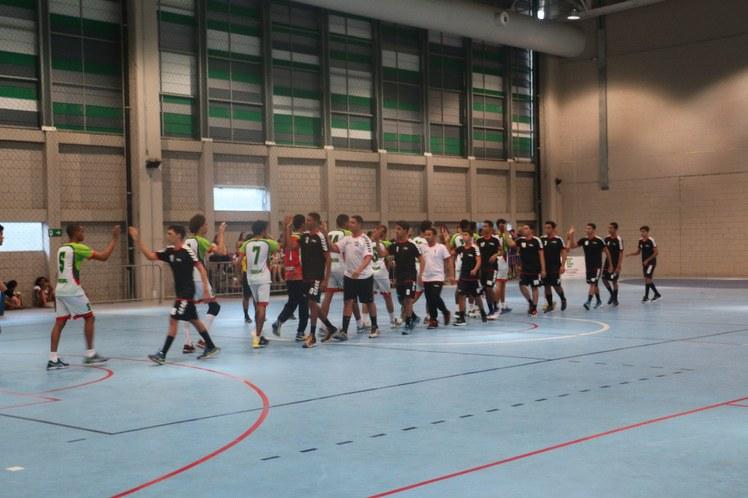 Cumprimentos do jogo IFBA X IF Sertão PE