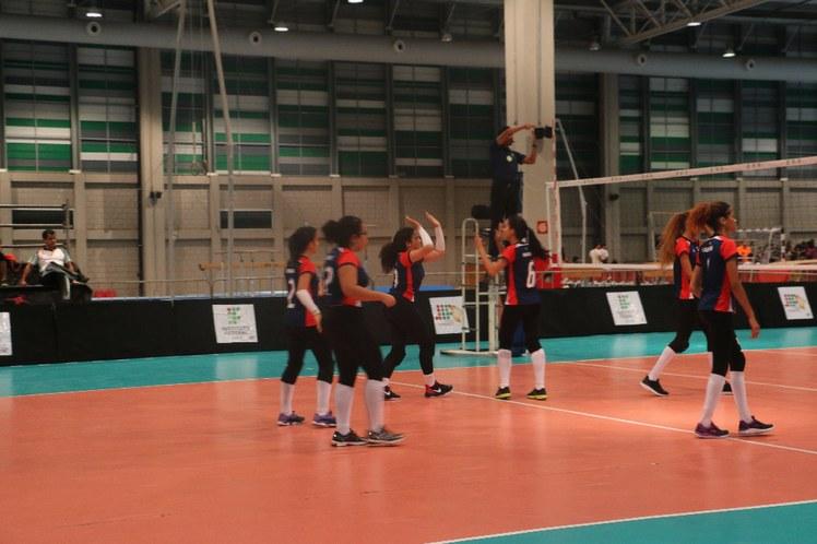 Jogo voleibol feminino IFBA X IFAL