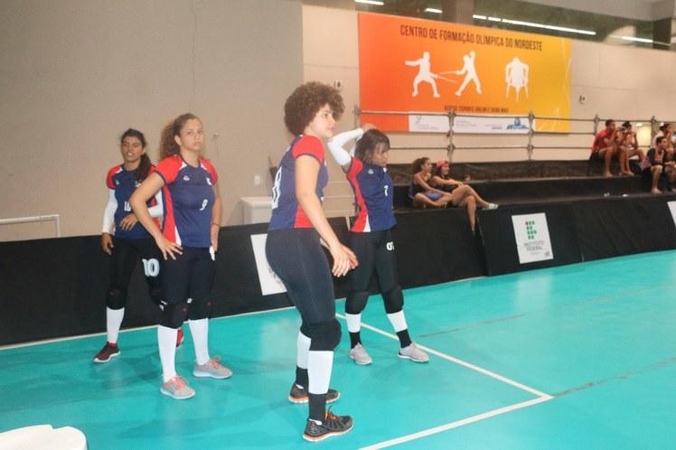 Reservas - jogo voleibol feminino IFBA X IFAL
