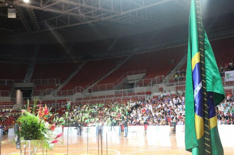 Cerimônia de abertura - JIFs Etapa Nordeste
