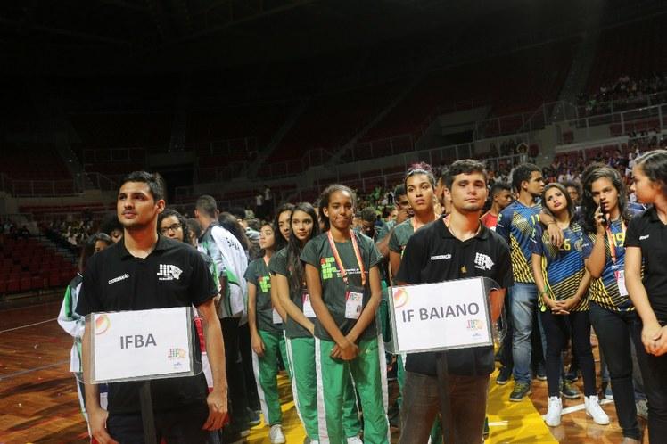 Delegações IFBA e IF Baiano