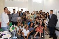 Visita de estudantes argentinos à Reitoria do IFBA