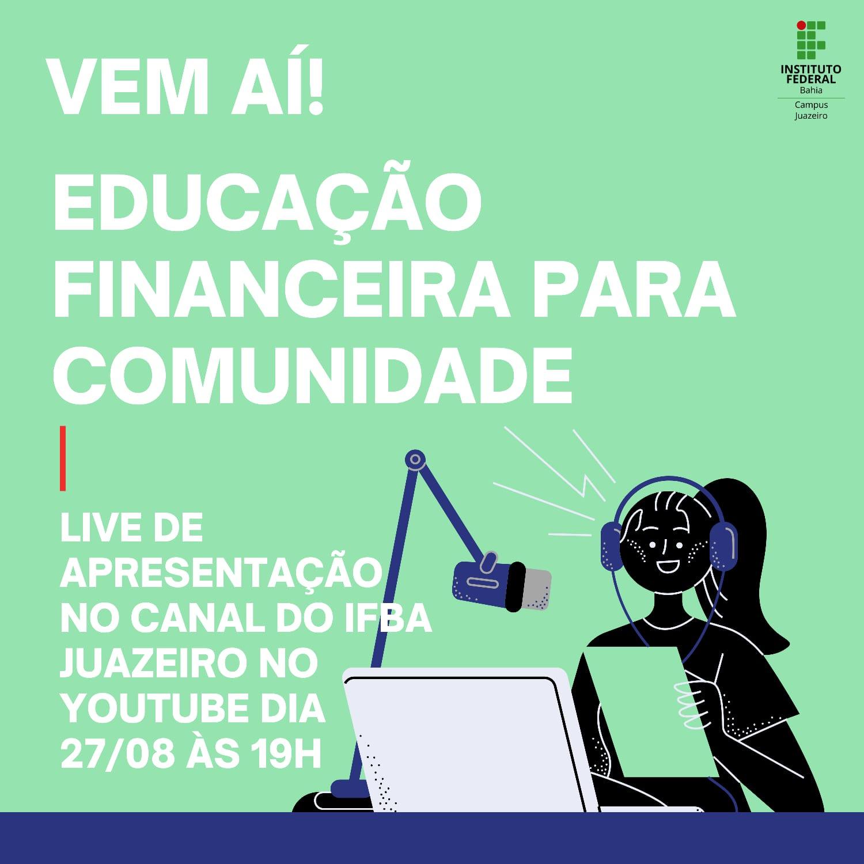 Educação Financeira Banner