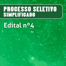 processo seletivo simplificado professor substituto 2017 Edital numero 4