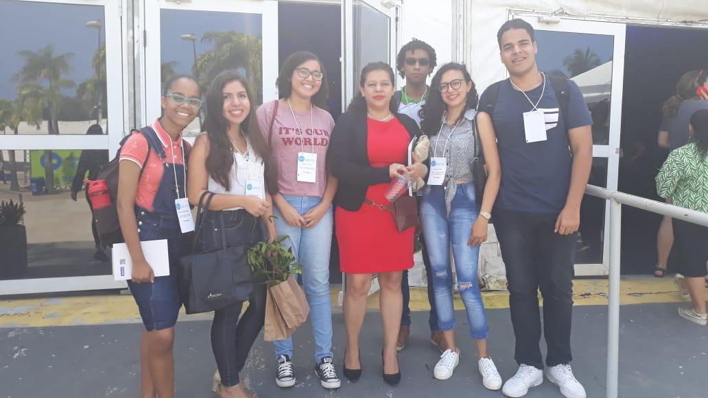 Alunos de Simões Filho despertam interesse de ministra da Nicarágua durante encontro da ONU