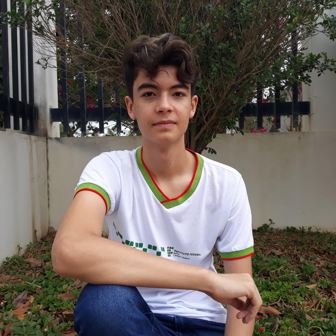 Styves, estudante do campus Seabra, medalha de ouro na ONC 2020