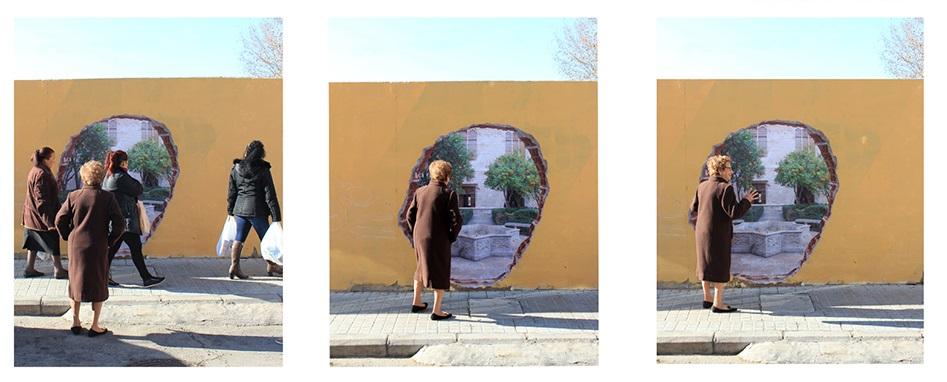 Professora de Feira de Santana realiza intervenções artísticas na Espanha
