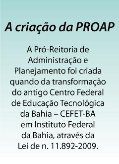 a-criação-da-proap