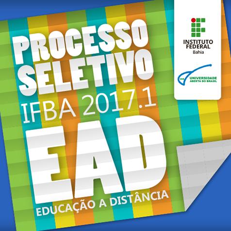 IFBA EAD UAB Processo seletivo