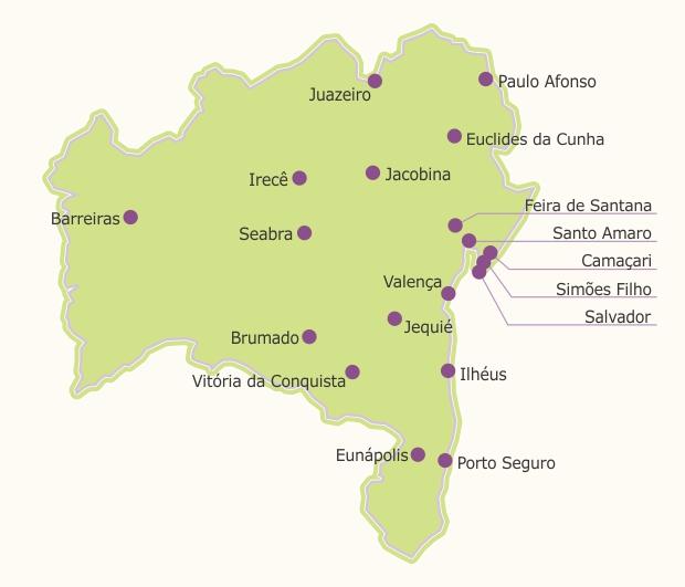 Mapa de Câmpus